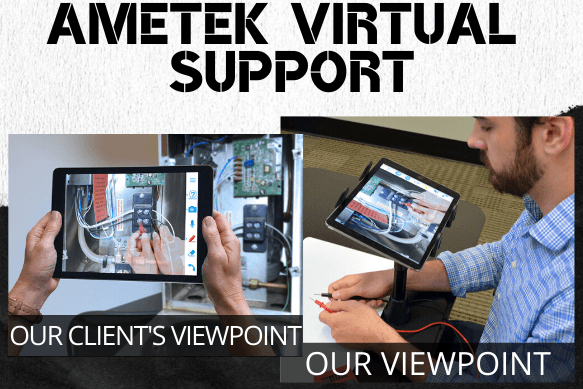 AMETEK Virtual Support - Remote Technical Support